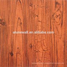 Panneau composé en aluminium de texture en bois avec l'excellente qualité