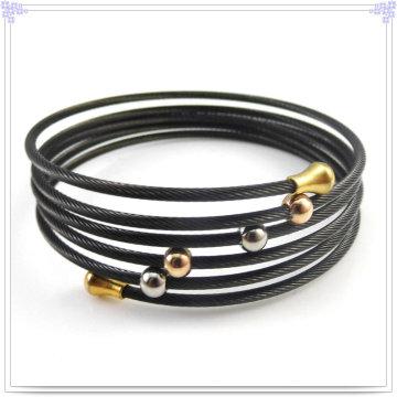 Bracelet à bijoux en acier inoxydable à bijoux de mode (BR271)