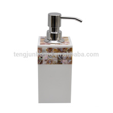 Canosa river Mother of pearl shell mosaic bathroom bottle pump dispenser