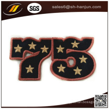 2016 New Arrival Iron-on Embroidery Patch for Cloth