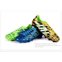 Hombre dinero apretón antideslizante zapatos de fútbol 09
