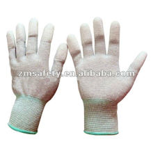 PU Carbon Nylon Spandex GlovesJRE06