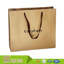 Cheap Wholsale Customized Logo Offset Printing Shopping Packaging Oem Paper Bag Manufacturer