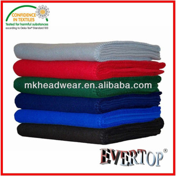 Cheap Plain 100% Polyester Super Soft Polyester Fleece Blankets for promotion