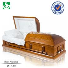 JS-A269 belle peinture exportés de cercueil en carton