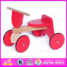 2015 Christmas Gift Kids Ride on Car Wholesale, Lovely Children Wooden Ride on Toy Car, Cute Wooden Baby Tricycle Car Toy W16A010