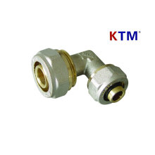 Brass Pipe Fitting - Reducing Elbow (tubing, plumbing laser pex-al-pex pipe fitting)