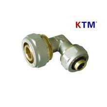 Латунный штуцер трубы - уменьшая локоть (трубы, сантехника лазерной трубы PEX-Аль-PEX труб сторона)