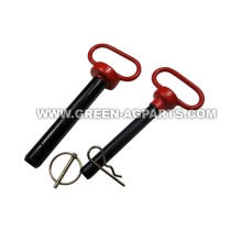 Top Link Hitch Pin mit rotem Griff