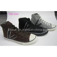 Men Fashion High Canvas Shoes