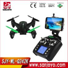 2016 Nuevo drone en venta WLtoys Q242 K WIFI FPV Mini Micro Drone RC Quadcopter con cámara de 2.0MP HD SJY-Q242K