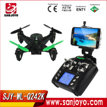 2016 New drone for sale WLtoys Q242 K WIFI FPV Mini Micro Drone RC Quadcopter with 2.0MP HD Camera SJY-Q242K