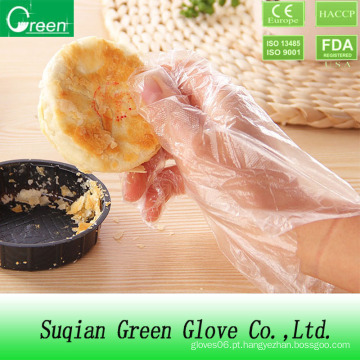 Processamento de alimentos baratos Plastic Glove