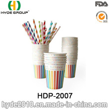 8oz Disposable Hot Coffee Paper Cup for Birthday Party (HDP-2007)