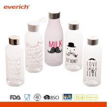 2016 Werbeartikel eusing Kunststoff Wasserflasche mit Srew Metalldeckel