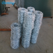 Factory Hot Dip Galvanized Barbed Wire for Sale