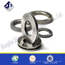 Lave-vaisselle à produit Shanghai Din9021 rondelle plate Rondelle plate en zinc fini