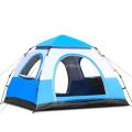 3-4 Personen Campingzelt Spinnerei Automatische Zelte