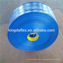 tuyau de platflat de PVC de grand diamètre