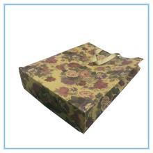 Kraft paper gift shopping bag for flower