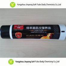 Alumínio e tubo plástico embalagens de cosméticos laminado tubo tubo de óleo de sapato