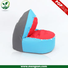 shark shaped children bean bag, kids furniture