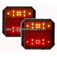 Одобренный свет лодочного прицепа 12В с отражателем