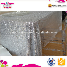 wedding sequin table cloth