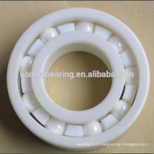 6204 6205 6304 zz ZrO2 roulement à billes en céramique pleine en céramique en provenance de Chine bon fournisseur