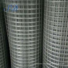 Treillis métallique soudé par PVC d'OEM de haute qualité