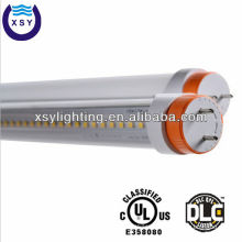 5 years warranty CRI>80 100lm/w DLC UL CE RoHS 100-277V AC 22w t8 smd 3014 led tube light