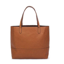 Moda PU Leather Open Top Ombro Lady Bag