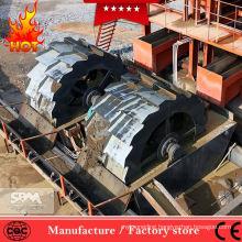 2018 Hot Sale gold ore washing machine, sand spiral screw