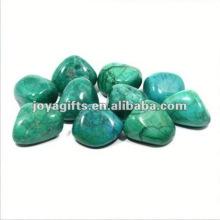 High Polished Gemstone pebble stone placemats