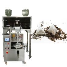 Máquina de embalagem para saquinhos de chá em pirâmide
