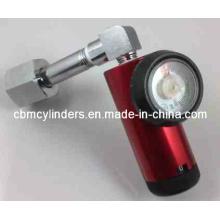 Cga540-Inlet Oxygen Flow Regulator for O2 Cylinders