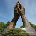 China fornecedor jardim decoração grande escultura de bronze abstrata