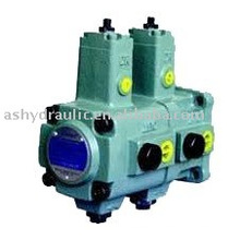 VVP de VVP1, VVP2, VVP3, VVP4 pompe à palettes double hydraulique à cylindrée variable