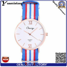 Yxl-521 Fashion Stainless Steel Rose Gold Luxury Watches Men High Quality Nato Strap Watch Discount Free Inspection