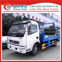 Dongfeng brazo hidráulico rodillo basura camión