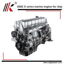 A água interna marinha pequena do motor diesel refrigerou o motor de alta velocidade do barco de 4 cilindros, motor diesel marinho com caixa de engrenagens