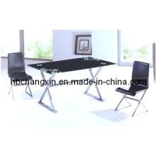 Новый современный дизайн высокого качества Glassdining таблица