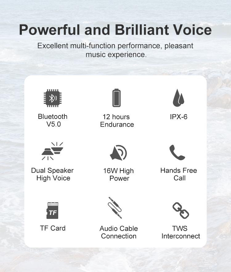Bd18 Bluetooth Speaker 2