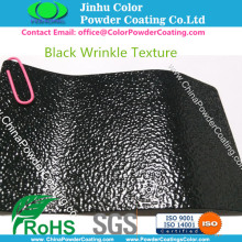 RAL 9005 Black Wrinkle Structure Powder Coating Paint