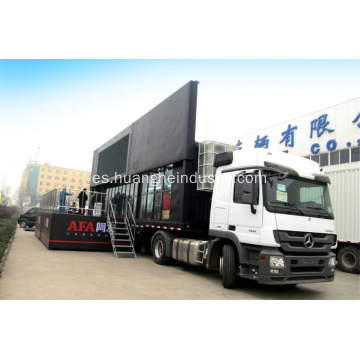 P10 LED Screen Stage Stage Vehicle