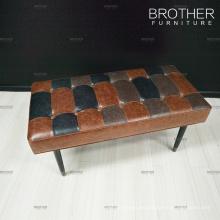 Silla tapizada de banco de cuero de fabricante de taburetes de banco de fabricante