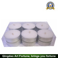 12g White Wax Tealight Candle for Home Decoration