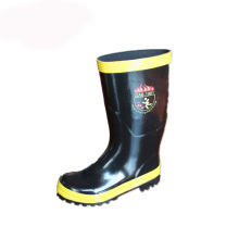 Good Quality for Fireman Rubber Boot High Quality Rubber Boots for Fireman with Printing export to Philippines Wholesale
