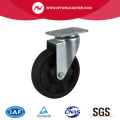Hallo-Temp. 268 ℃ 4 Zoll 100Kg Plate Swivel HP Caster