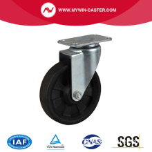 Hi-Temp. 268 ℃ 4 Inch 100kg Plate Swivel HP Caster